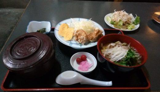 上里町の相川食堂の飯はおいしいよ