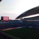 試合前の埼スタ