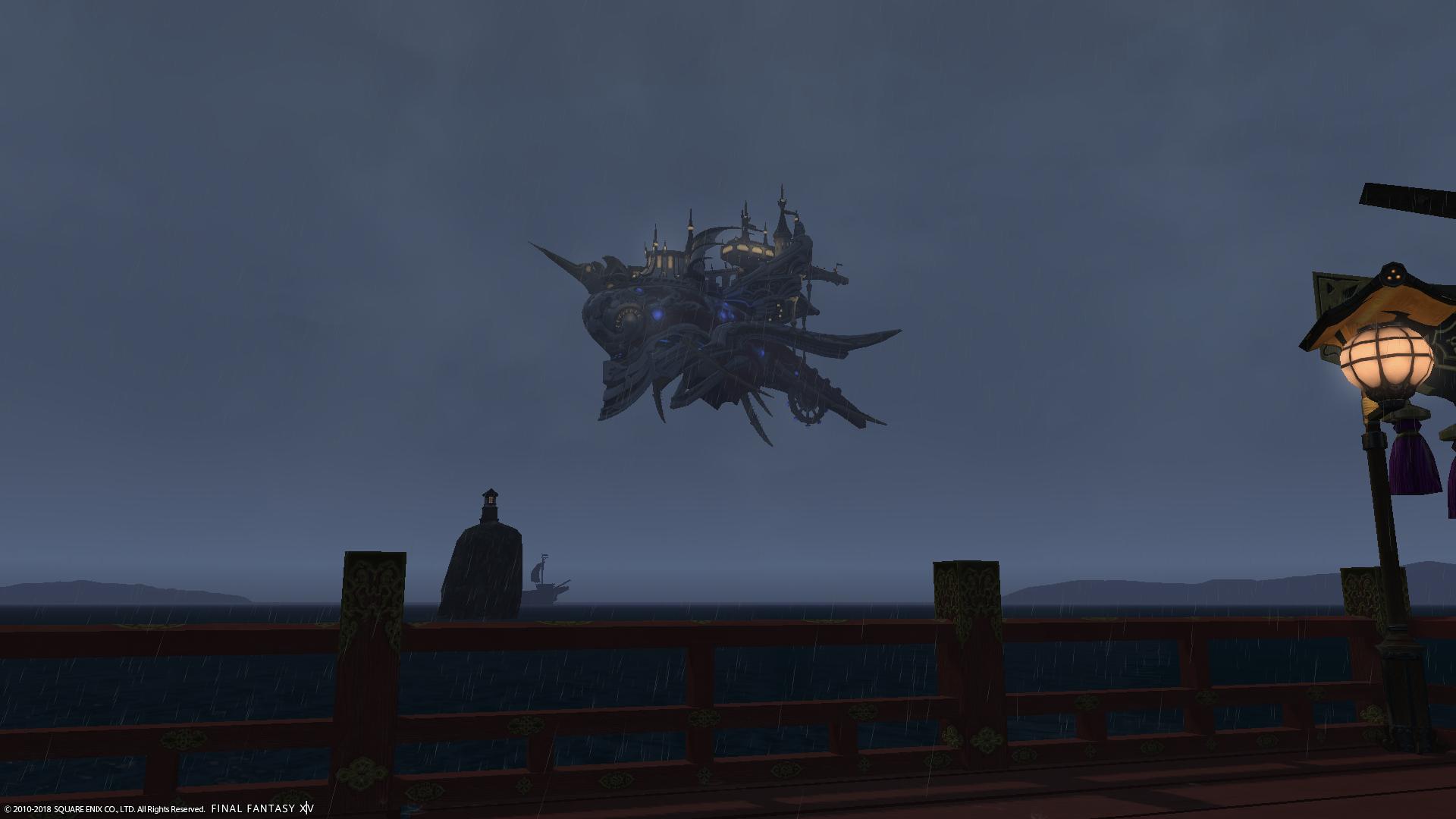 タクティックスの飛空艇