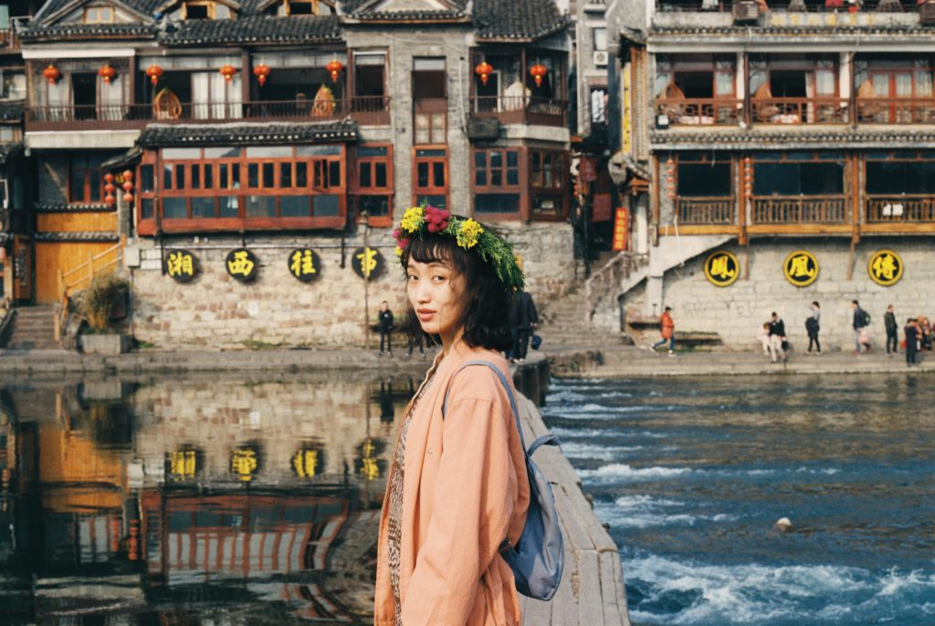 中国のどこかの女性