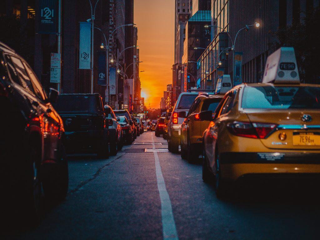 夕方のストリート