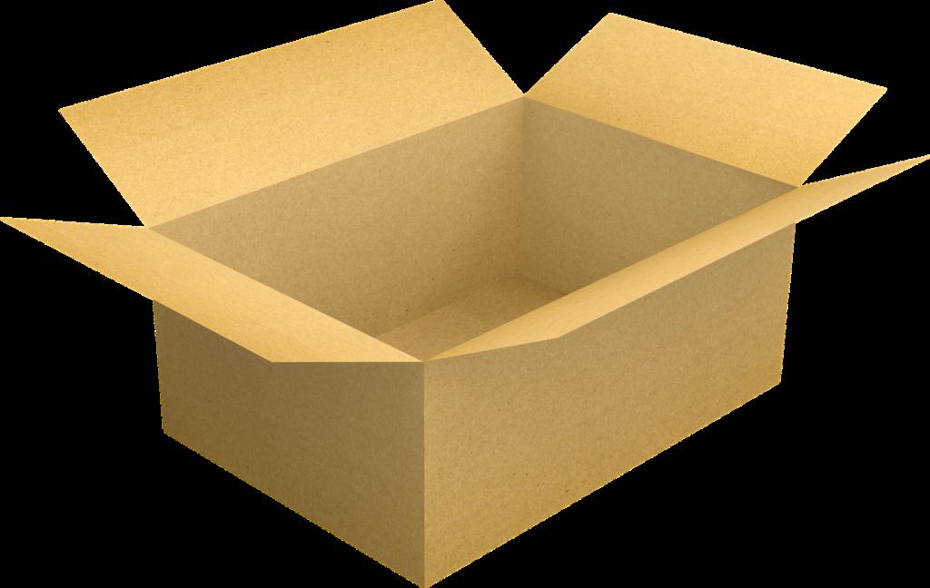 こういう箱はコンビニでも重宝する