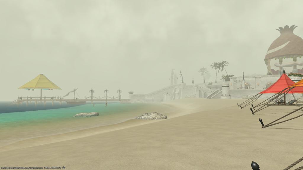 ミストの海辺その3