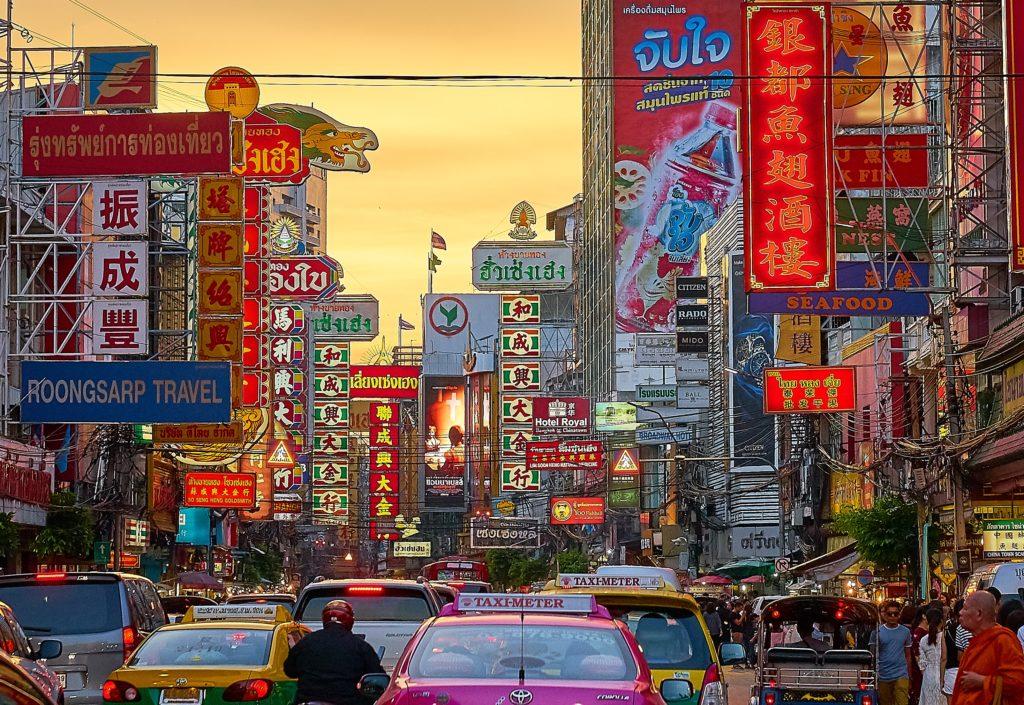 おそらくバンコクのチャイナタウン