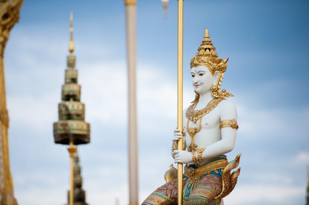 タイのお寺のどこかだけど思い出せない
