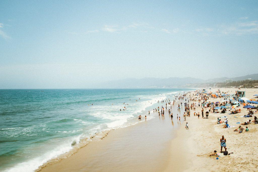 サンタモニカのビーチらしい