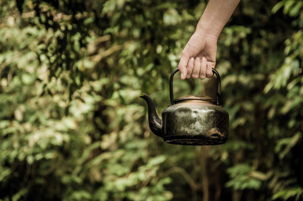 急須のお茶?
