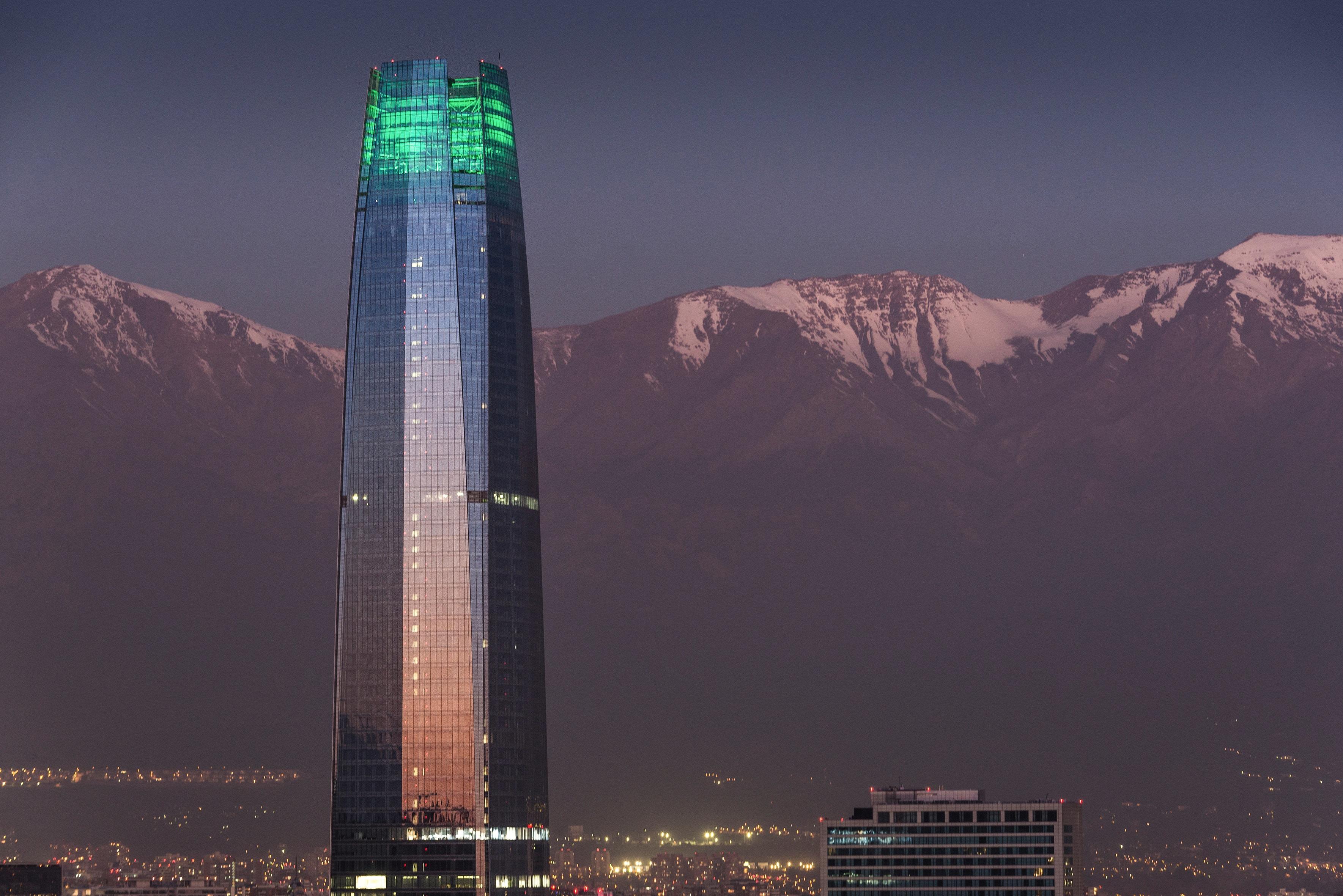 チリのランドマークタワー