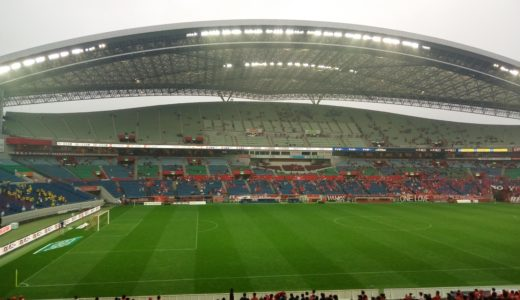 【浦和レッズ】 台風によるサッカーの試合中止はほぼなし!