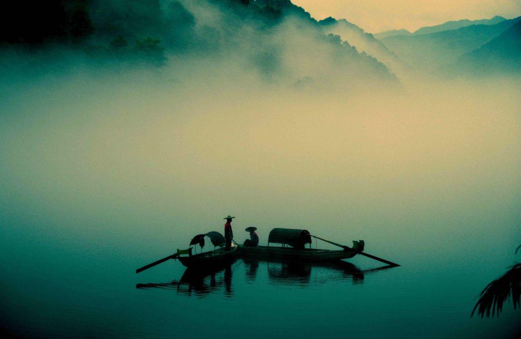 桂林にありそうな風景