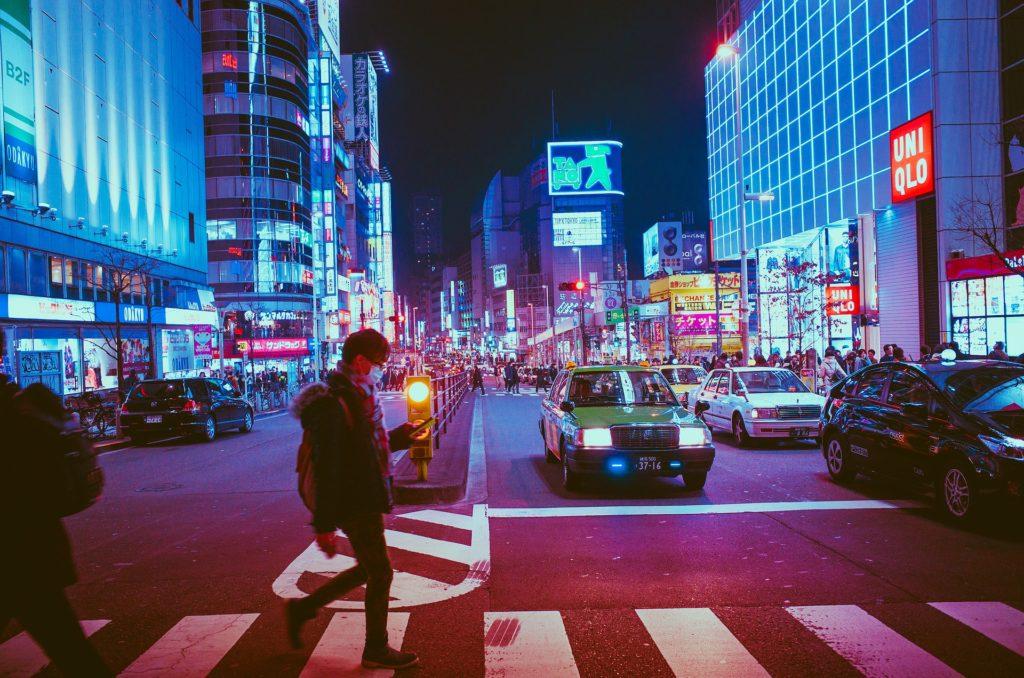 大阪の街のようだ