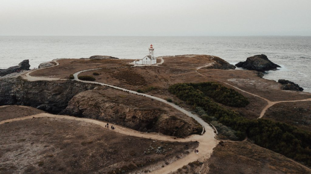 フランスの岬