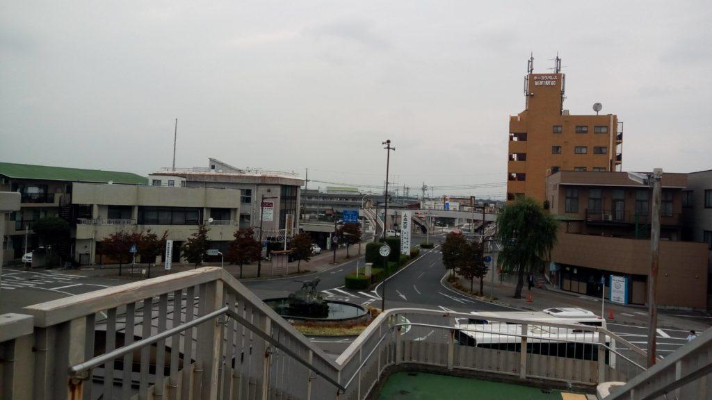 新町駅北口の風景