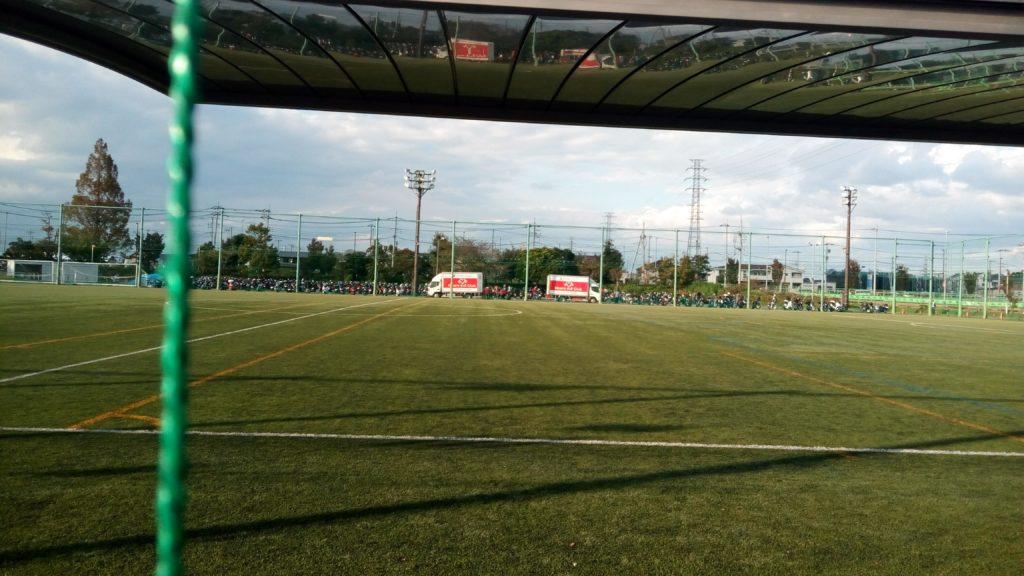 北のサッカー場