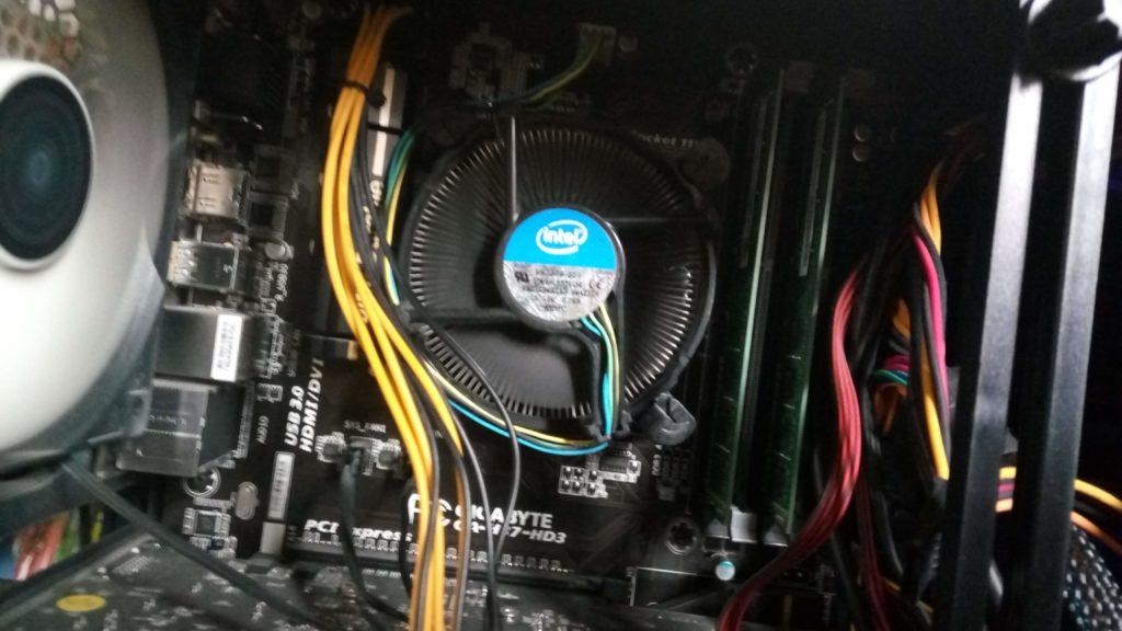 私のパソコンの内部