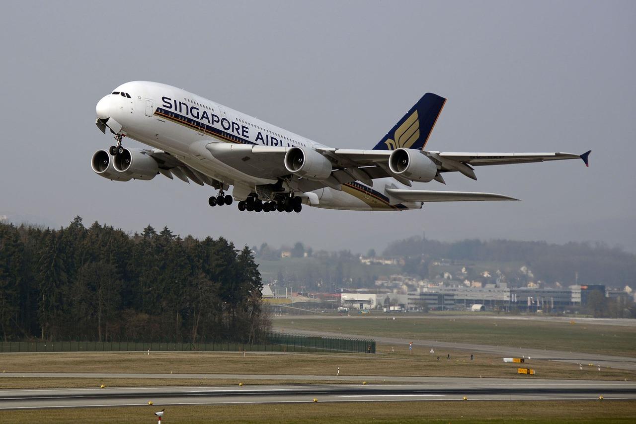 シンガポール航空のエアバス