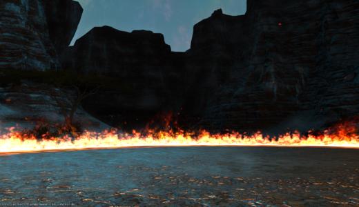 【FF14】竜騎士としての極朱雀戦は落ちければオケ
