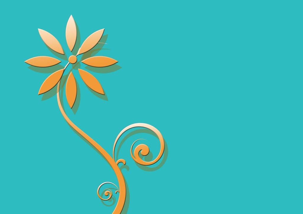 花のアニメーション