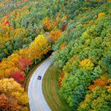 秋の紅葉ドライブ