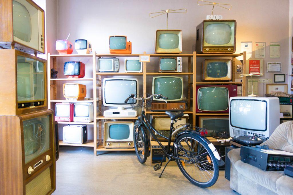 テレビがいっぱい!