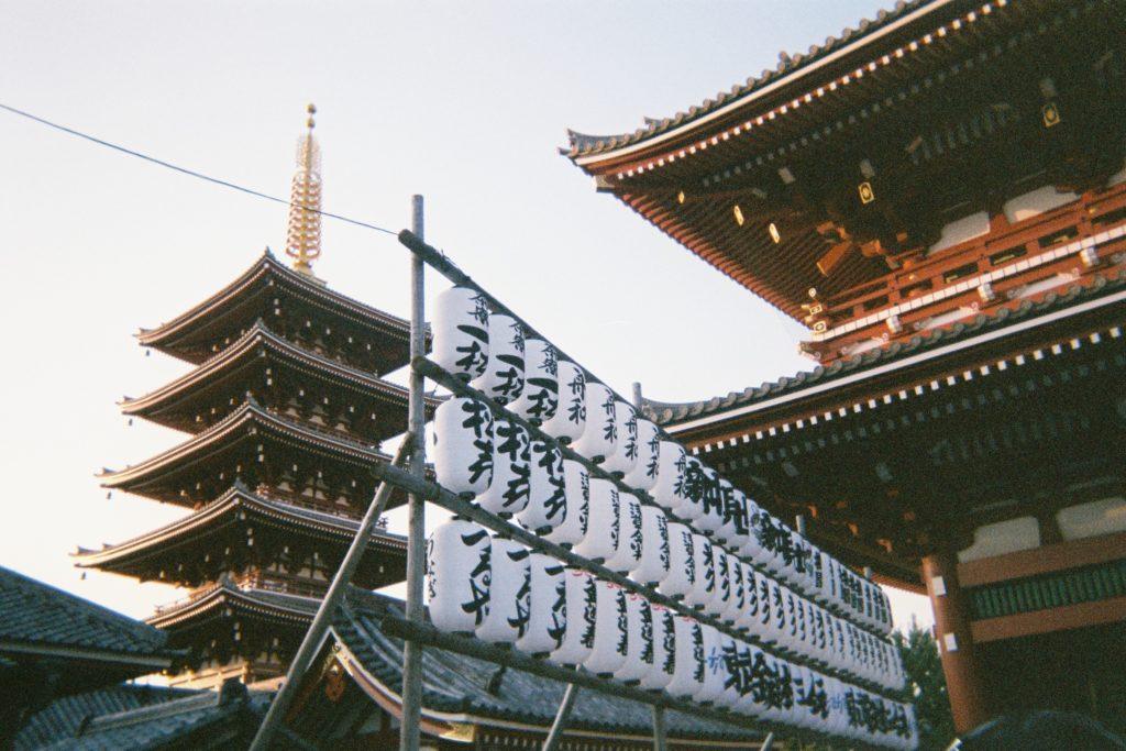 日本のどこかの神社