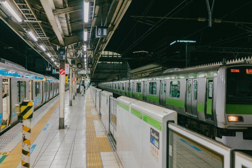 山手線と京浜東北線