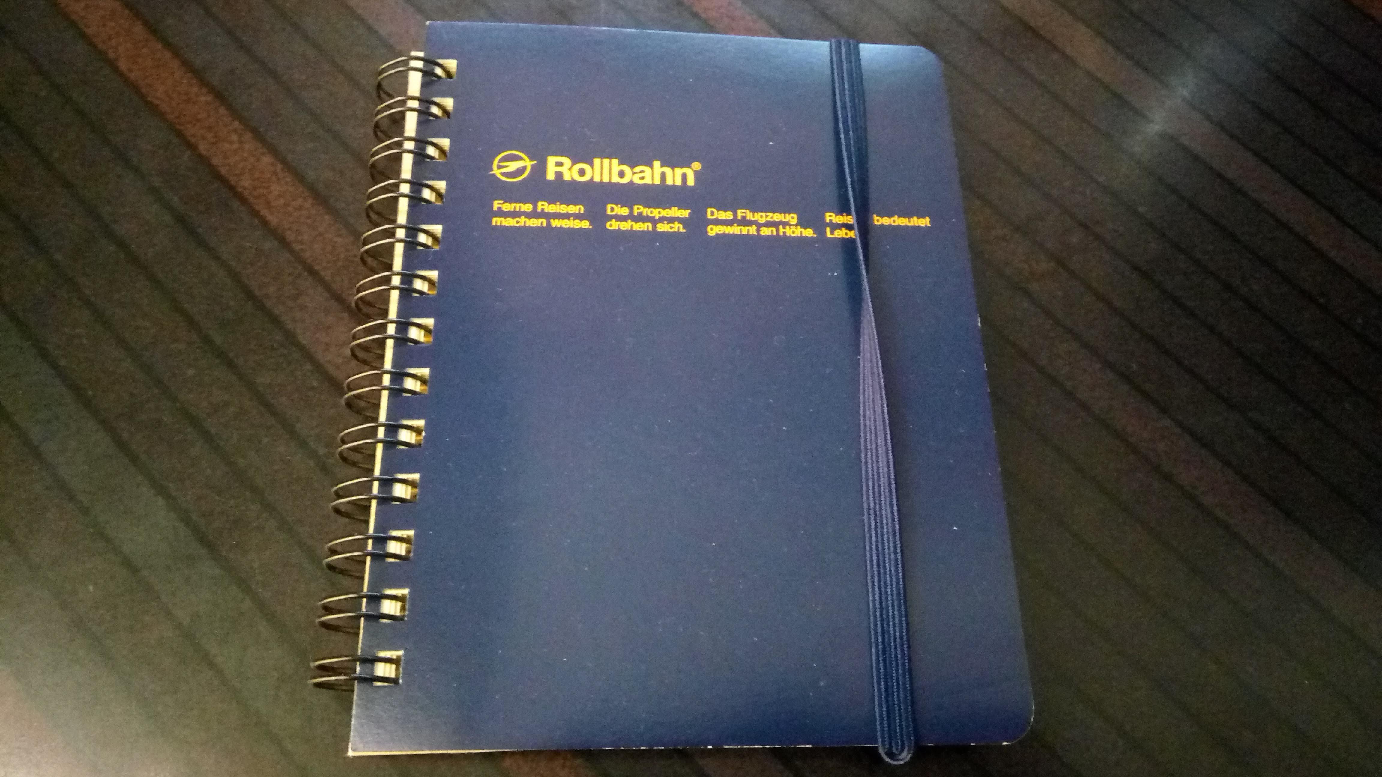 ロルバーンのメモ帳表紙