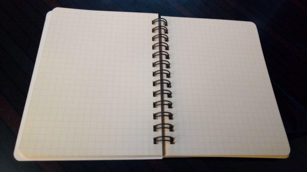 ロルバーンメモ帳の見開き