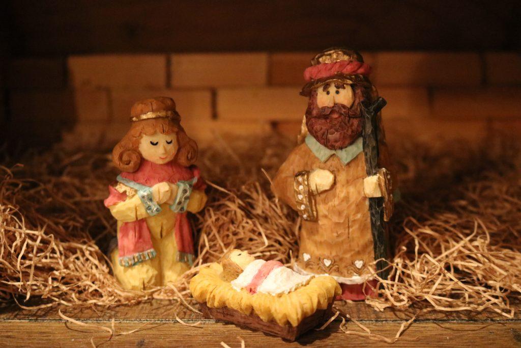 多分ヨセフと聖母マリア様とキリスト