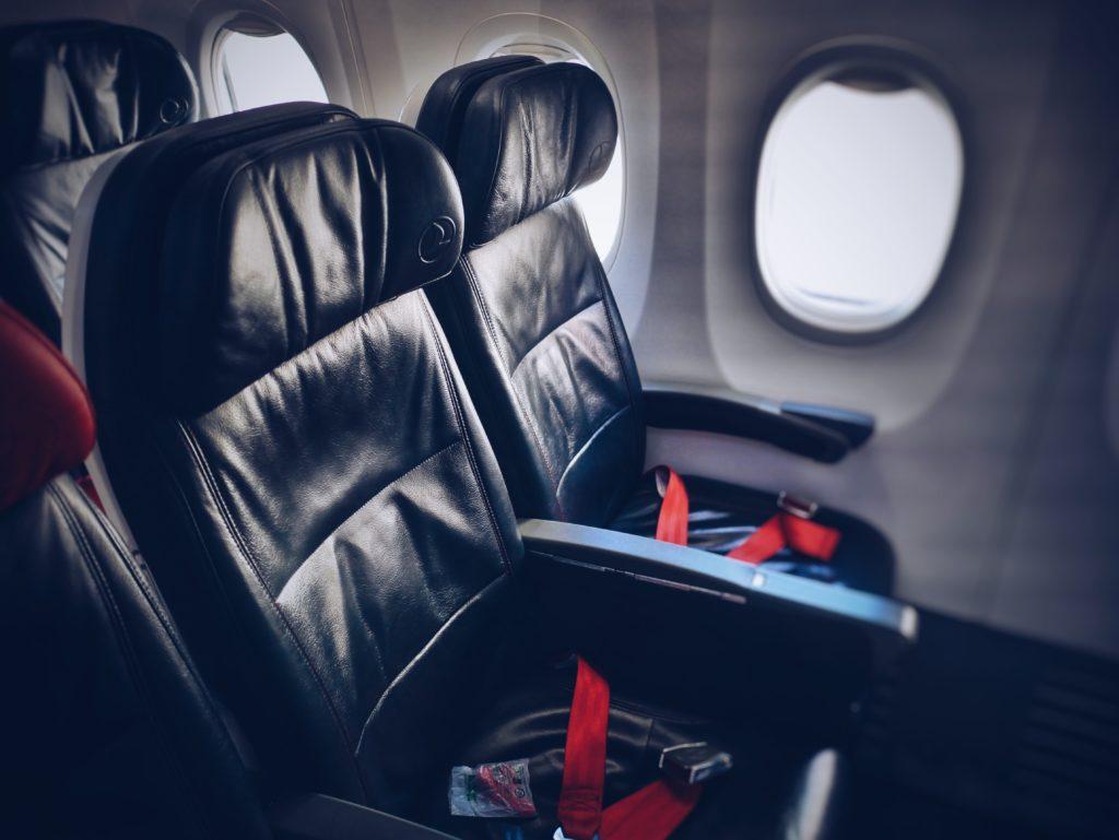 LCCの機内の席