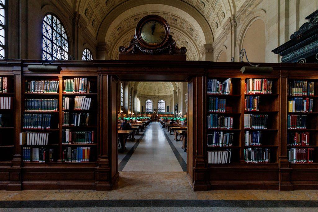 欧米のどこかの図書館