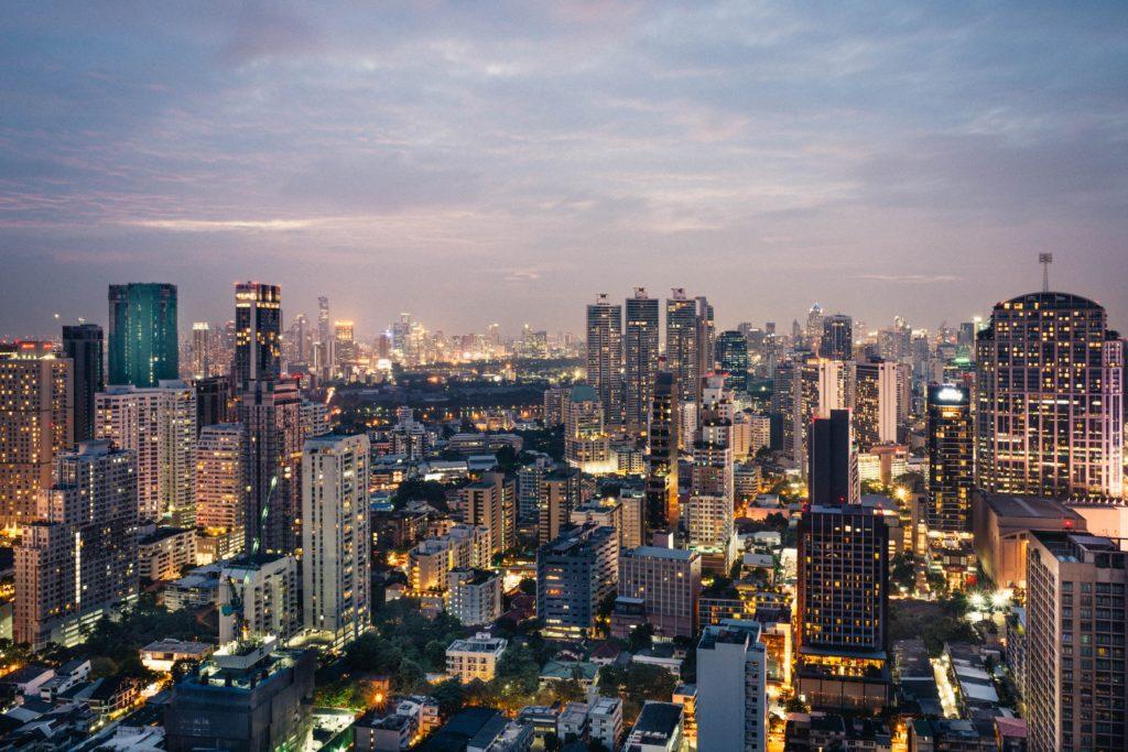 バンコクのビル