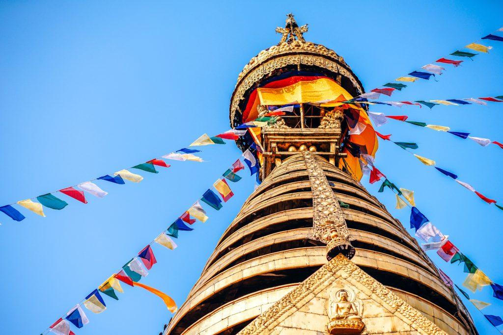 ネパールの寺