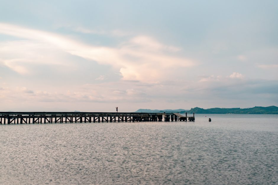 タイの桟橋