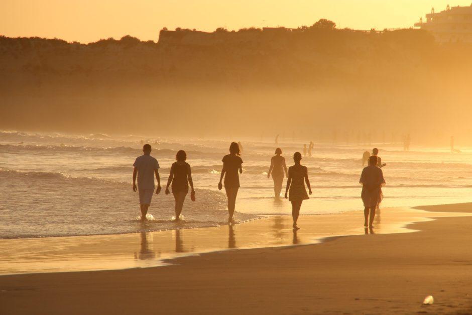 ポルトガルのビーチ
