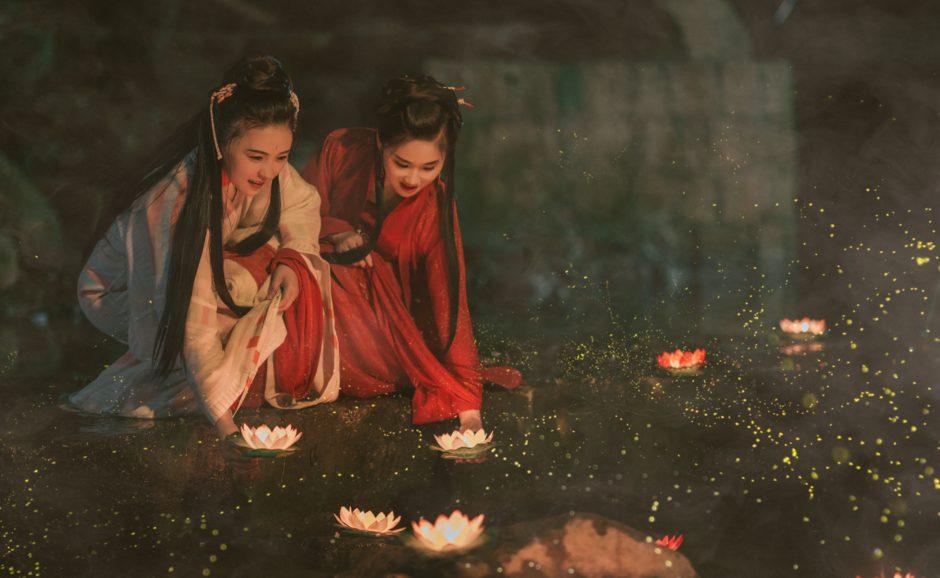 二人の中国人女性