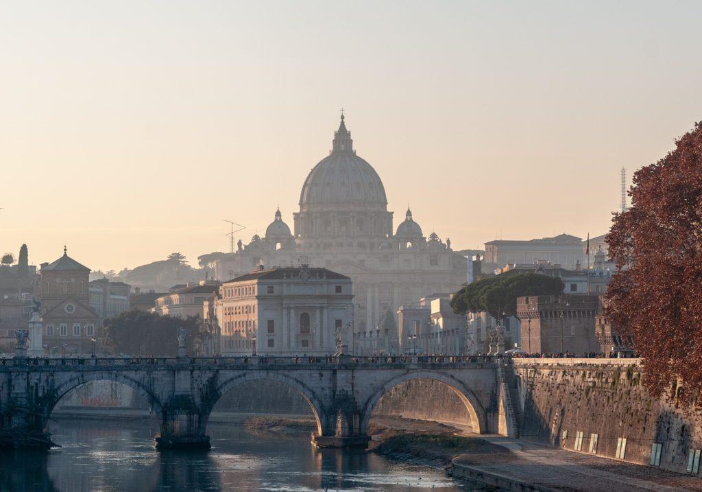 ローマのどこかのお城
