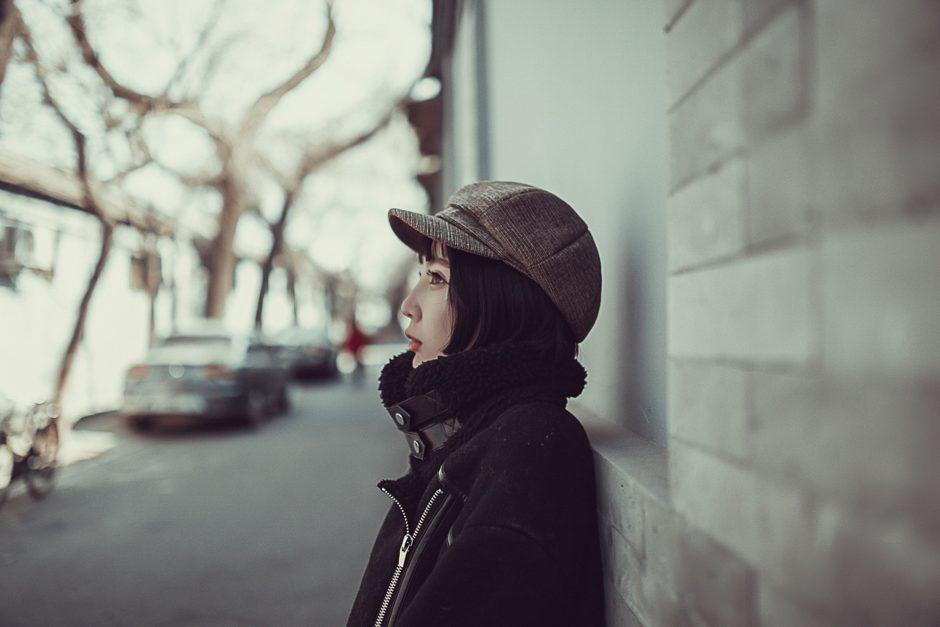 北京の女性