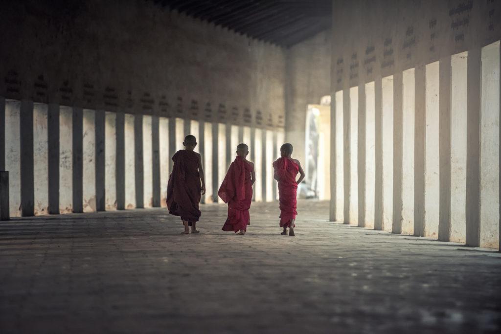 3人の僧侶様