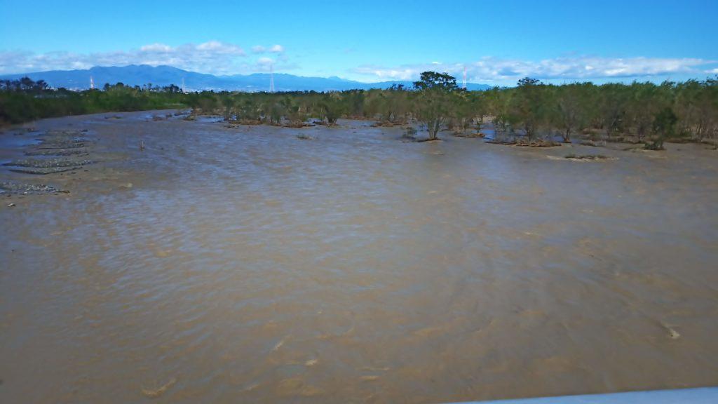 台風19号通過後の神流川その2