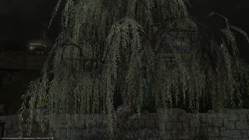 モコモコの庭