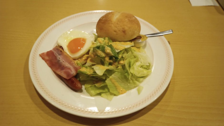 joyfulの朝飯