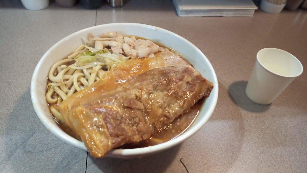 9/30のジライヤ角煮ラーメン
